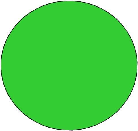 Clip Art Green Dots Clipart